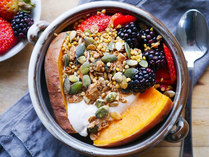 Sweet Potato Breakfast Bowl 1