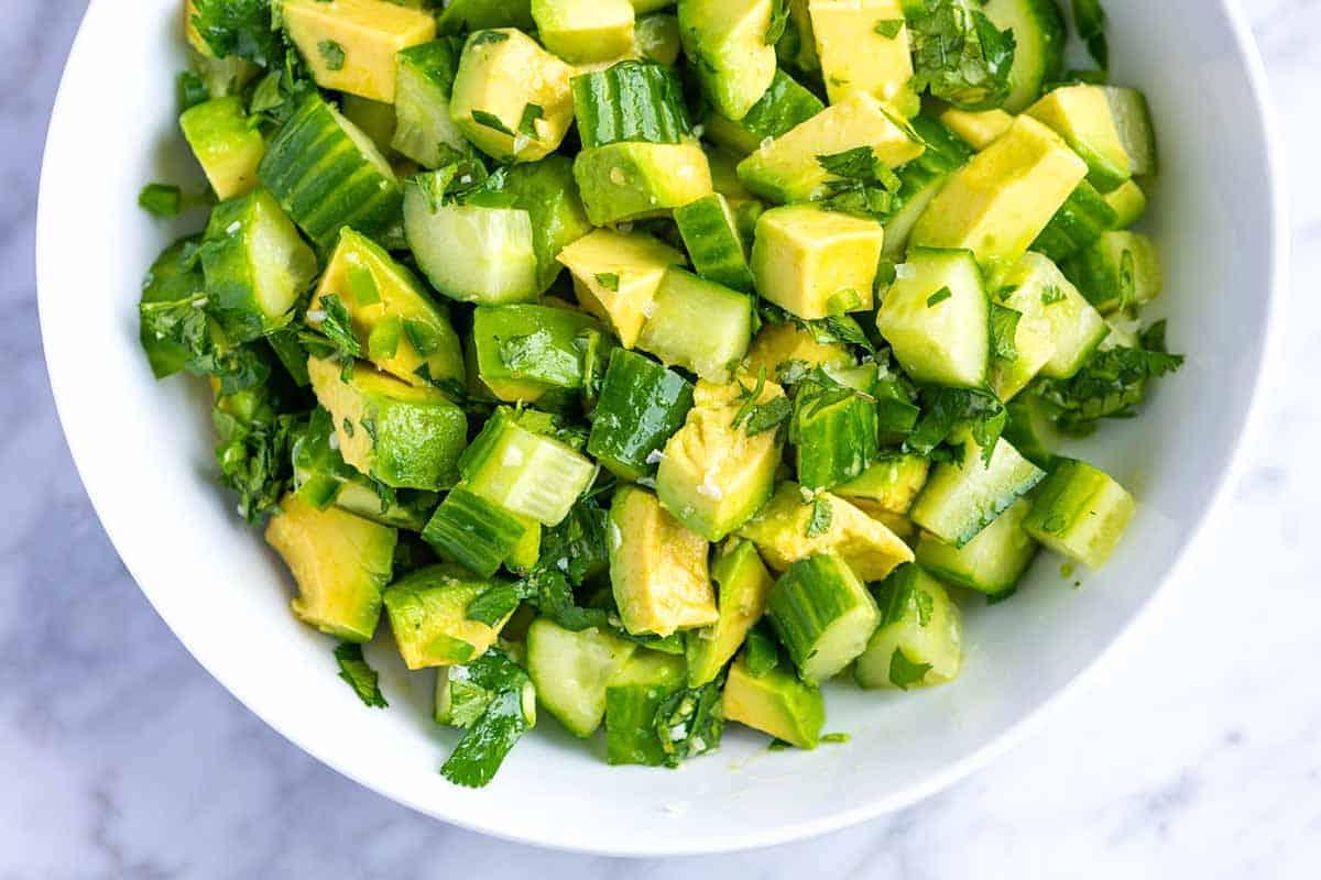 Easy Avocado Salad Recipe 2 1200