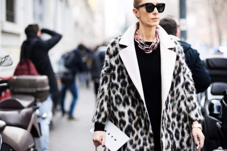 Angelis Elina Halimi Milan Fashion Week Fall Winter 2015 2016 Street Style leopard coat best winter coat leopard style 1024x683 768x512