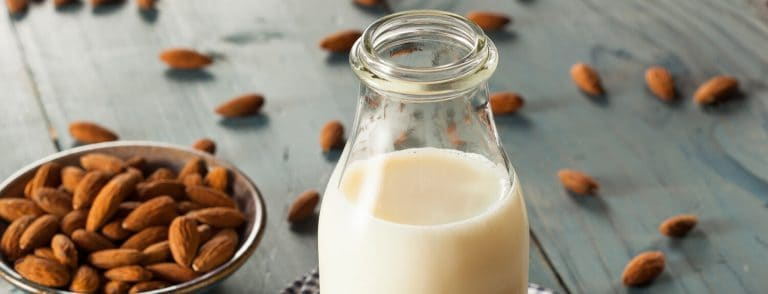 Sweet Vanilla Almond Milk 768x294