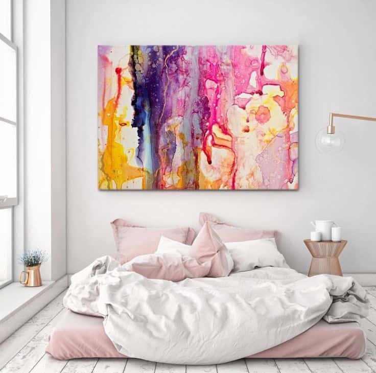 a726d33cde1b23c40af716175eeeae58 artwork above bed master bedroom art above bed