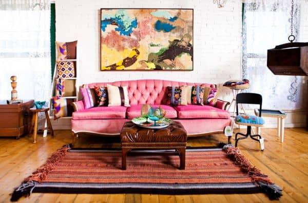 boho sofa