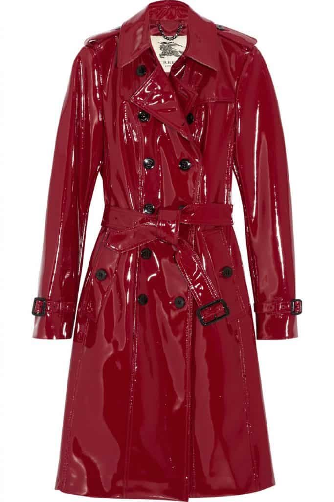 burberry red glossedvinyl trench coat product 1 13835438 209594076 683x1024
