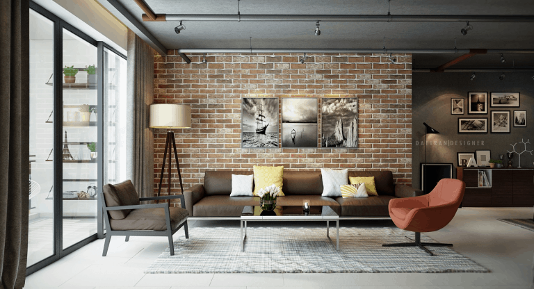 exposed brick accent wall 768x416