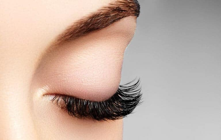 eyelash and eyebrow tinting and extensions 768x486