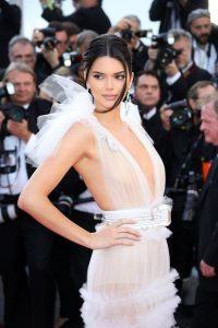 kendall jenner white sheer gown cannes 2018 200x300