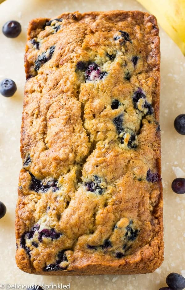 Blueberry Banana Bread 3