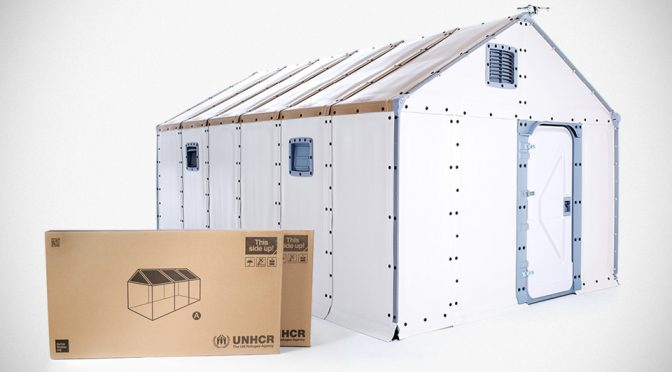 Ikea x Better Shelter Flat pack Temporary House new Featured image 672x372