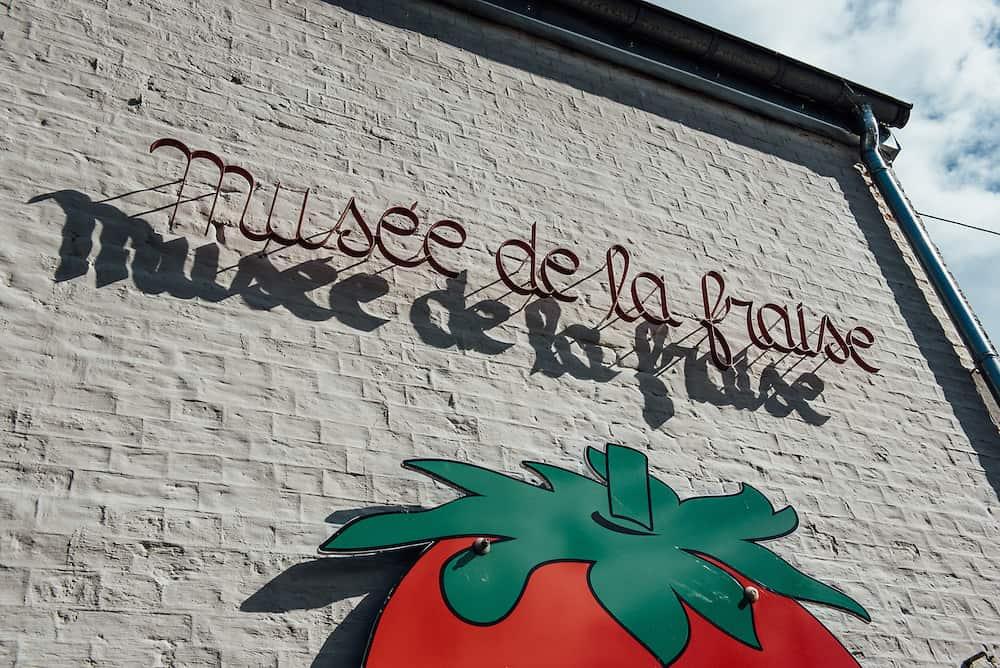 Musée de la Fraise, Wépion, Belgium