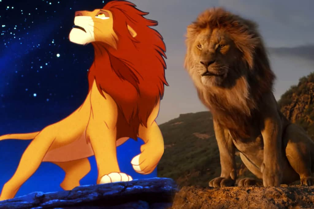 lion king before after
