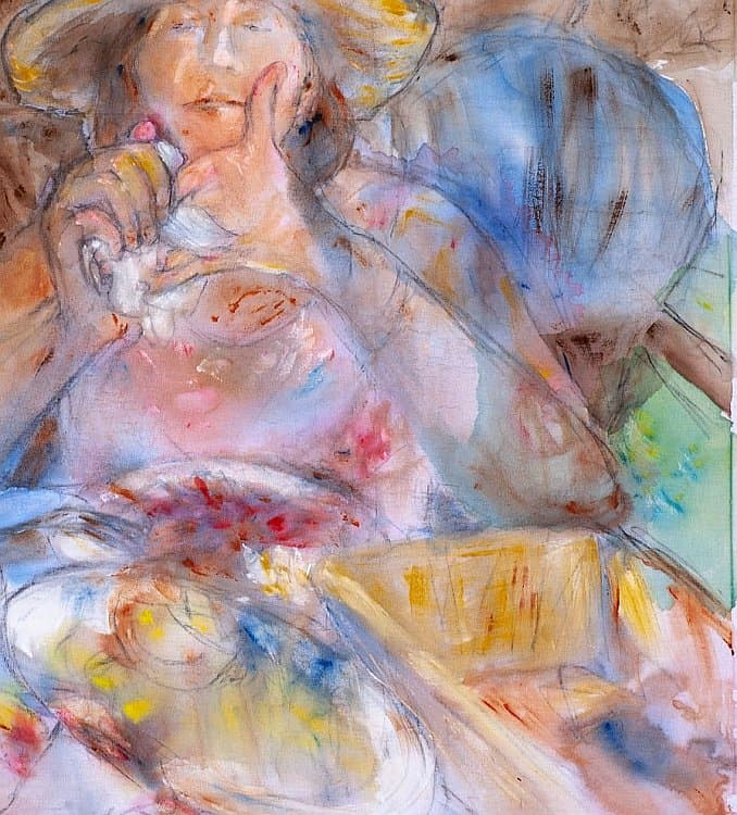 Marianzhela Anastasova Self portrait