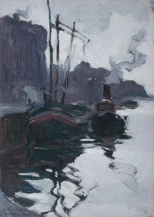Nikola Tanev 1922 Na pristanishteto Berlin